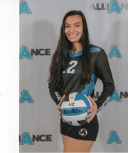Alliance Volleyball Club 2020:   Bella Cartwright (Bella)
