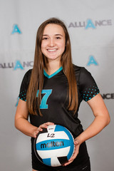 Alliance Volleyball Club 2020:   Sadie Trotter
