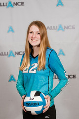 Alliance Volleyball Club 2020:   Alexis McGee