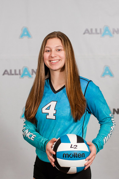 Alliance Volleyball Club 2020:  Ella Sylvester