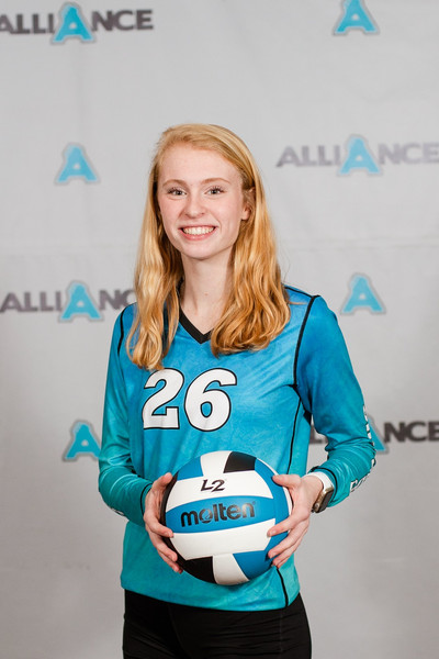 Alliance Volleyball Club 2020:  Kathryn Horn (Kate)