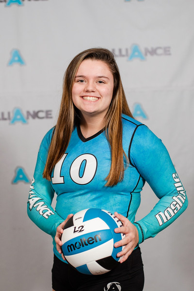 Alliance Volleyball Club 2020:  Marlene McCauley (Marley)