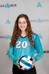 Alliance Volleyball Club 2020:   Zoe Oldham (Zoe)