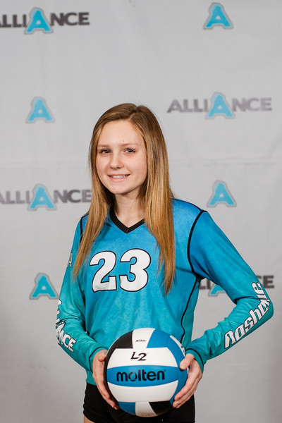 Alliance Volleyball Club 2020:  Kiera Ottinger