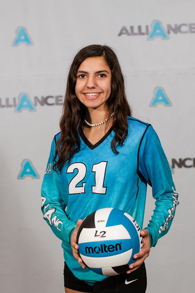 Alliance Volleyball Club 2020:  Sherine Ibrahim