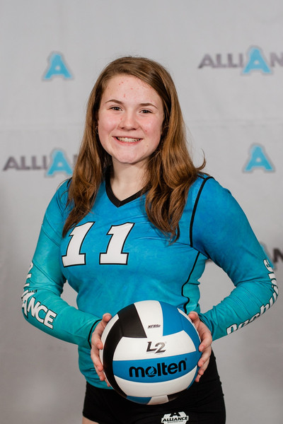 Alliance Volleyball Club 2020:  Alexandra (Ali)