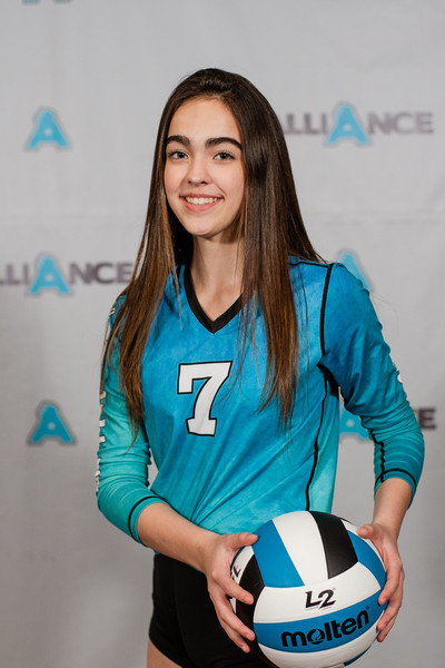 Alliance Volleyball Club 2020:  Jamie Duke